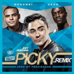 Icon of Joey Montana Ft  Mohombi & Akon – Picky (Official Remix)