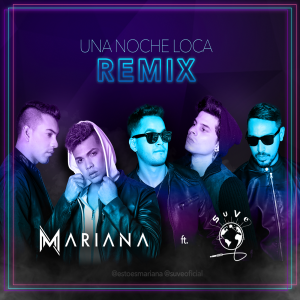 Icon of Mariana Ft SuVe - Una Noche Mas Remix
